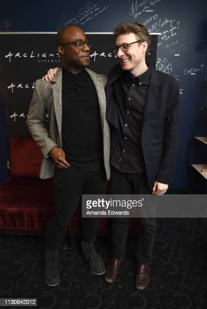 Director Barry Jenkins and composer Nicholas Britell attend the ArcLight Presents Hitting The High Note Screening Series Honoring 2019 Best Original...