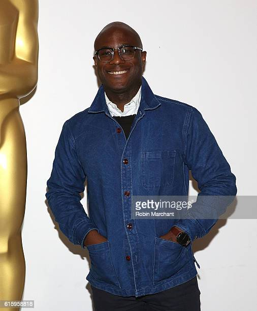 Director Barry Jenkins attends The Academy of Motion Picture Arts and Sciences hosts an Official Academy screening of MOONLIGHT at MOMA on October 20...