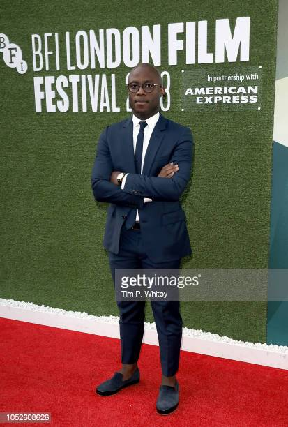 Director Barry Jenkins attends the European Premiere of If Beale Street Could Talk Love Gala during the 62nd BFI London Film Festival on October 20...