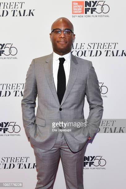 Director Barry Jenkins attends the If Beale Street Could Talk US premiere during the 56th New York Film Festival at The Apollo Theater on October 09...