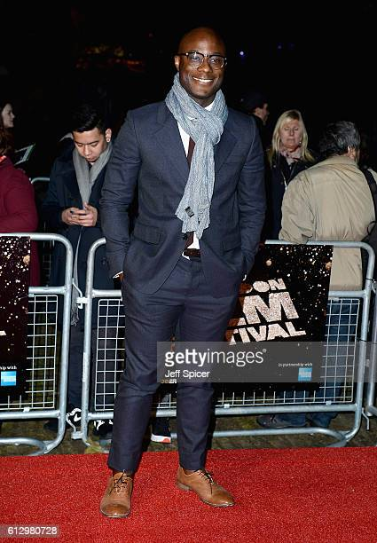 Director Barry Jenkins attends the 'Moonlight' Official Competition screening during the 60th BFI London Film Festival at Embankment Garden Cinema on...