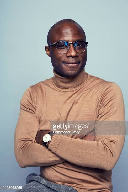Director Barry Jenkins poses for a portrait on February 23, 2019 at the 2019 Film Independent Spirit Awards in Santa Monica, California.
