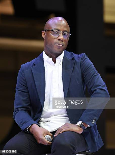 Director Barry Jenkins speaks onstage during the 2018 Essence Festival presented by CocaCola at Ernest N Morial Convention Center on July 6 2018 in...