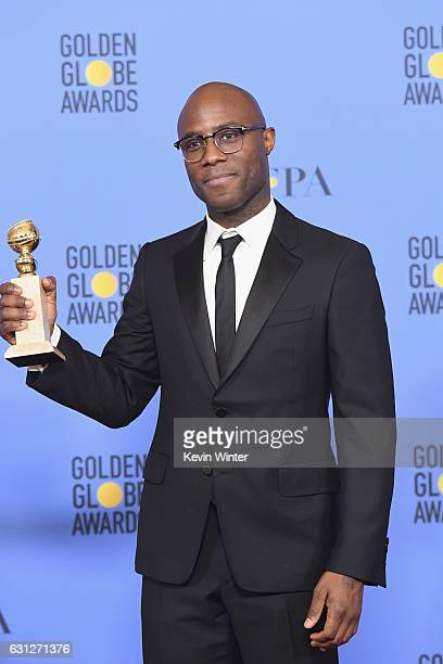 Director Barry Jenkins winner of Best Motion Picture Drama for 'Moonlight' poses in the press room during the 74th Annual Golden Globe Awards at The...