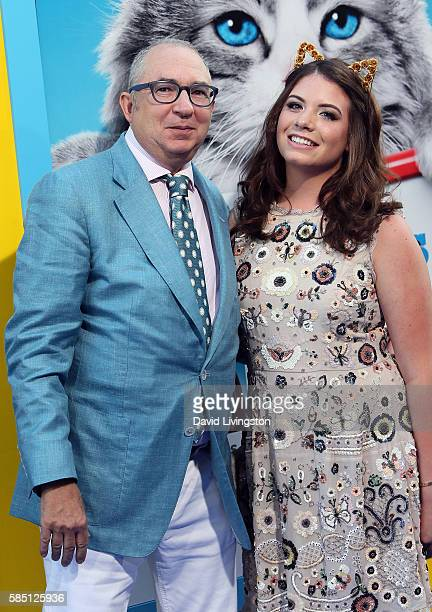 Director Barry Sonnenfeld and daughter actress Chloe Sonnenfeld attend the premiere of EuropaCorp's Nine Lives at the TCL Chinese Theatre on August 1...