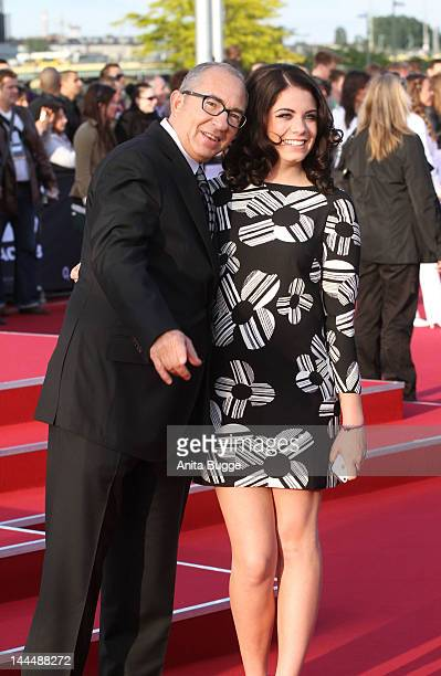 Director Barry Sonnenfeld and his daughter Chloe attend the 'Men In Black 3' Germany Premiere at O2 World on May 14 2012 in Berlin Germany