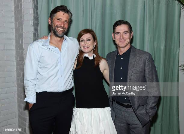 Director Bart Freundlich Julianne Moore and Billy Crudup attend the After The Wedding New York Screening After Party at Hotel 50 Bowery Rooftop on...