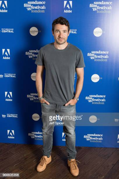 Director Bart Layton arrives for 'The Art Of The Real' panel discussion during the 2018 Sundance Film Festival at Picturehouse Central on June 3 2018...