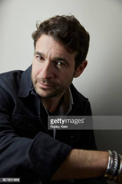 Director Bart Layton from the fim 'American Animals' poses for a portrait at the YouTube x Getty Images Portrait Studio at 2018 Sundance Film...