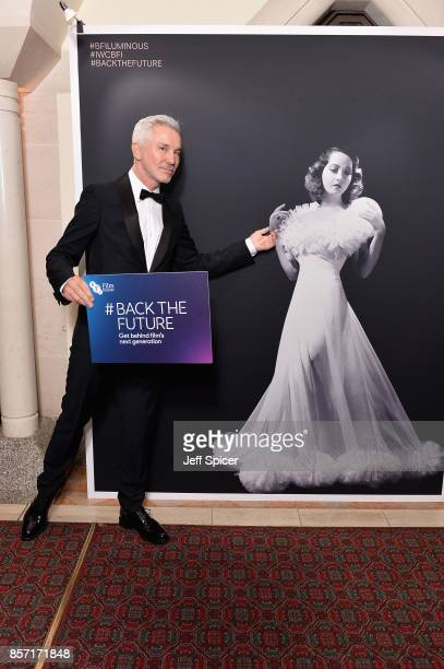 Director Baz Luhrman attends the BFI Luminous Fundraising Gala at The Guildhall on October 3 2017 in London England