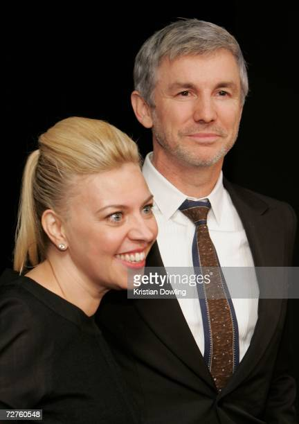 Director Baz Luhrmann and Catherine Martin pose backstage at the L'Oreal Paris 2006 AFI Awards at the Melbourne Exhibition Centre on December 7 2006...