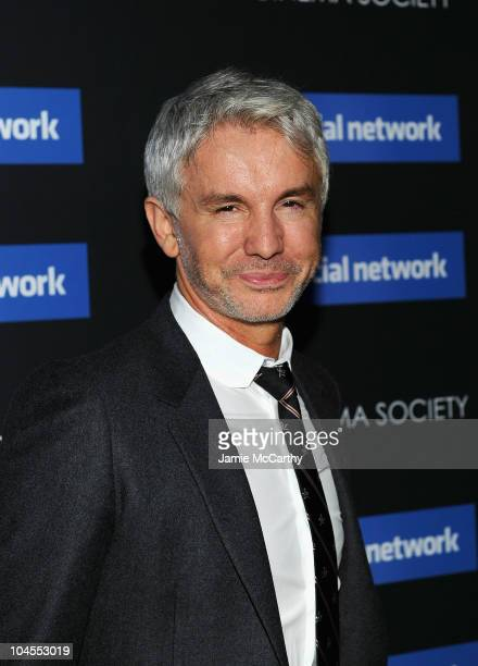 """Director Baz Luhrmann attends Columbia Pictures' and The Cinema Society's screening of """"The Social Network"""" at the School of Visual Arts Theater on..."""