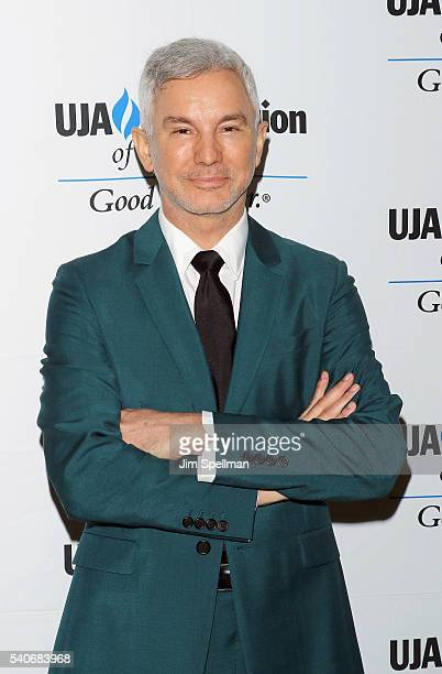Director Baz Luhrmann attends the 2016 UJAFederation of New York's Music Visionary of the Year Award luncheon at The Pierre Hotel on June 16 2016 in...
