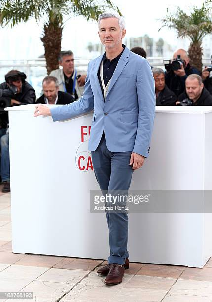Director Baz Luhrmann attends 'The Great Gatsby' photocall during the 66th Annual Cannes Film Festival at the Palais des Festivals on May 15 2013 in...