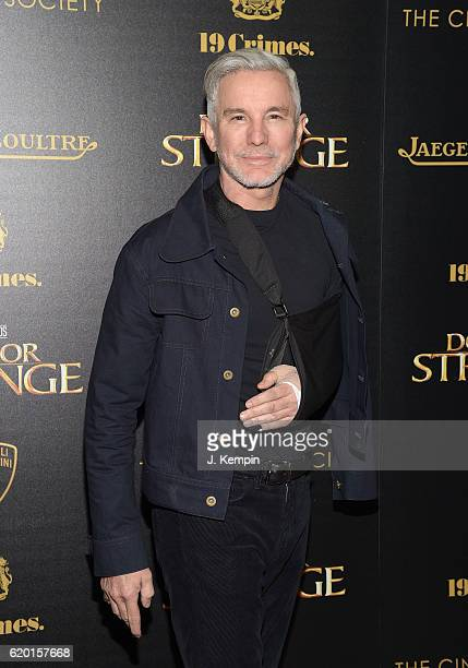 """Director Baz Luhrmann attends the Screening of Marvel Studios' """"Doctor Strange"""" hosted by Lamborghini with the Cinema Society, Jaeger-LeCoultre and..."""