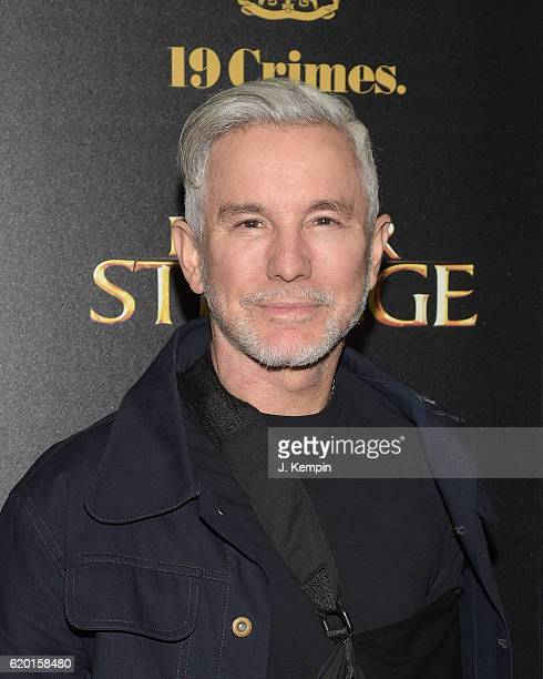 "Director Baz Luhrmann attends the Screening Of Marvel Studios' ""Doctor Strange"" at AMC Empire on November 1, 2016 in New York City."