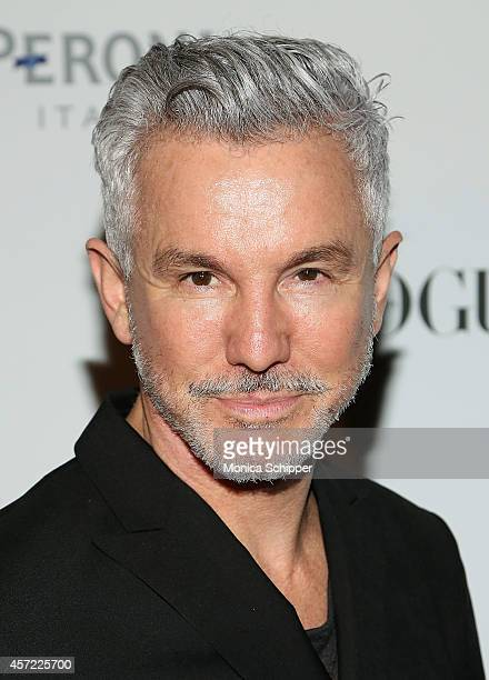Director Baz Luhrmann attends the Vogue Italia Opening Night Exhibition at Industria Studios on October 14 2014 in New York City
