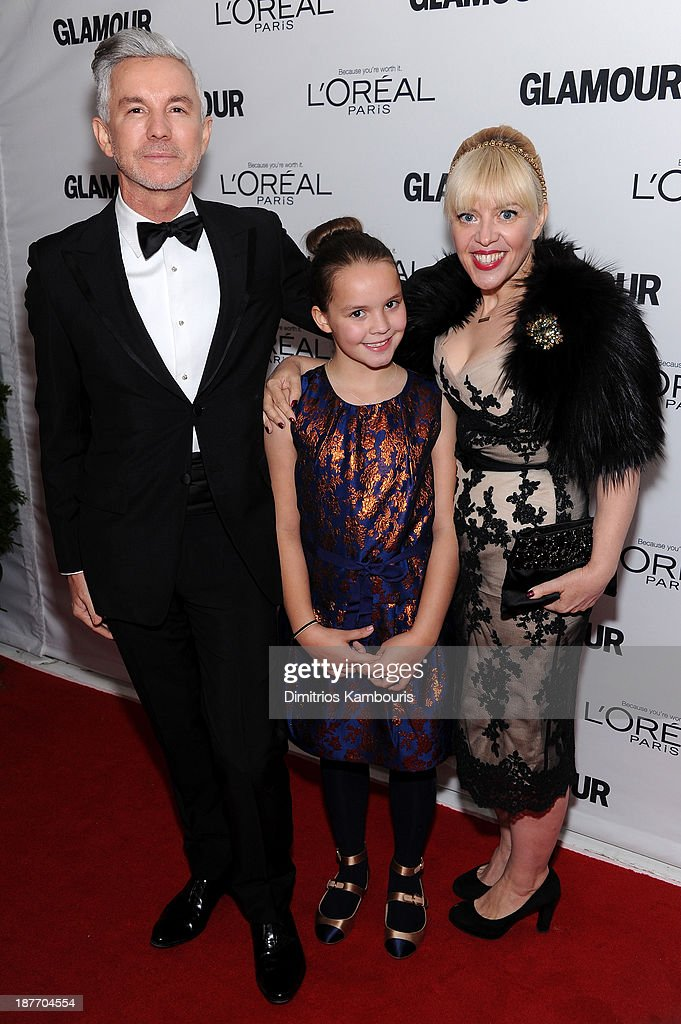 Director Baz Luhrmann, Lillian Amanda Luhrmann, and production designer Catherine Martin attend Glamour's 23rd annual Women of the Year awards on November 11, 2013 in New York City.