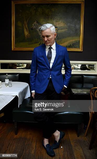 Director Baz Luhrmann poses during Tea At The Beatrice Inn With Glenn O'Brien on September 14 2016 in New York City