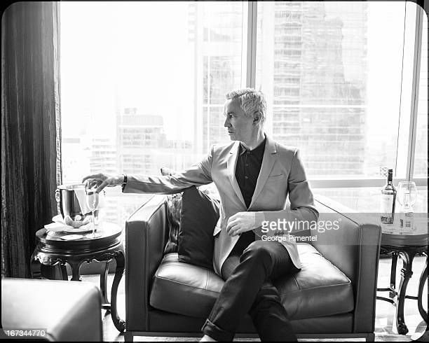 Director Baz Luhrmann promotes his movie 'The Great Gatsby' at ShangriLa Hotel on April 24 2013 in Toronto Canada