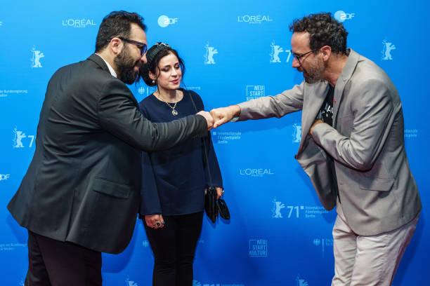 "DEU: ""Ghasideyeh Gave Sefid"" (Ballad Of A White Cow) Premiere - 71st Berlinale International Film Festival Summer Special"