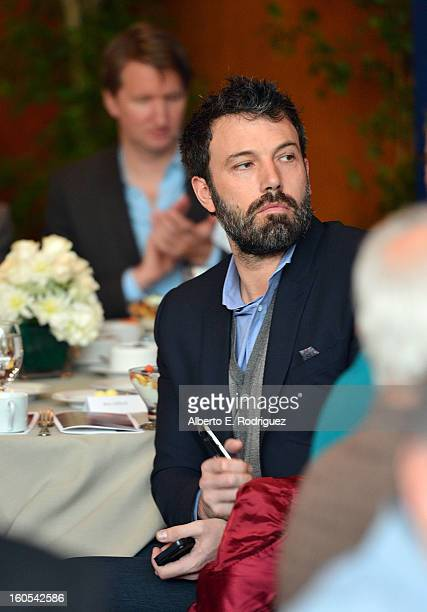 Director Ben Affleck attends the 65th Annual Directors Guild of America Awards President's Breakfast held at the DGA on February 2 2013 in Los...
