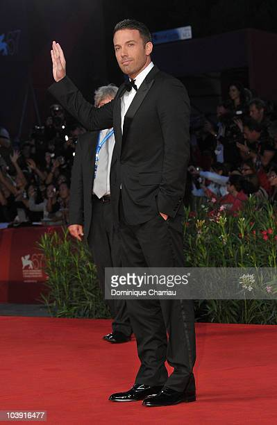 Director Ben Affleck attends The Town premiere at the Palazzo del Cinema during the 67th Venice International Film Festival on September 8 2010 in...