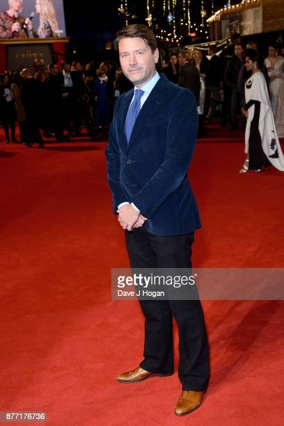 Director Ben Caron attends the World Premiere of season 2 of Netflix 'The Crown' at Odeon Leicester Square on November 21 2017 in London England