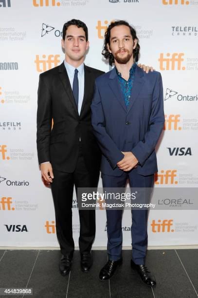 Director Ben Safdie and director Joshua Safdie attend the 'Heaven Knows What' premiere at the Toronto International Film Festival on September 6 2014...
