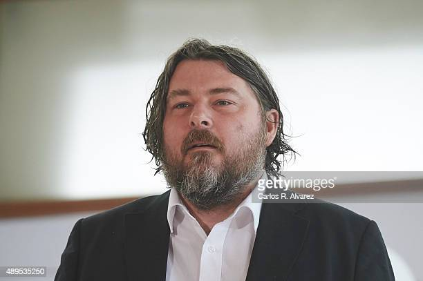 Director Ben Wheatley attends the 'HighRise' photocall at the Kursaal Palace during the 63rd San Sebastian International Film Festival on September...