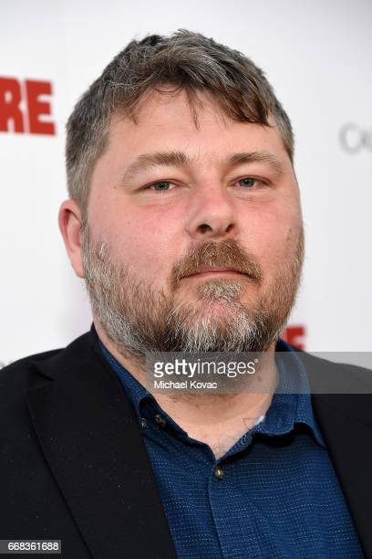 Director Ben Wheatley attends The Los Angeles Premiere Of 'Free Fire' Presented By Casa Noble Tequila on April 13 2017 in Los Angeles California