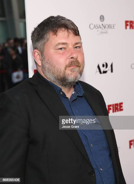Director Ben Wheatley attends the premiere of A24's 'Free Fire' at ArcLight Hollywood on April 13 2017 in Hollywood California