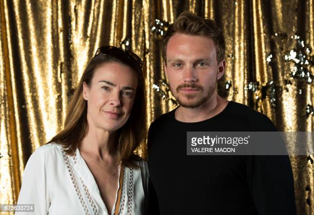 Director Benedicte Delmas and actor Roby Schinasi attend the Colcoa French Film Festival on May 1 2017 in Los Angeles California / AFP PHOTO /...