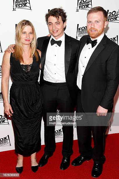 Director Benh Zeitlin and producer Michael Gottwald attend the 20th Century Fox And Fox Searchlight Pictures' Academy Award Nominees Celebration at...