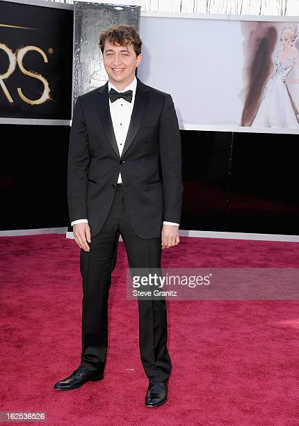 Director Benh Zeitlin arrives at the Oscars at Hollywood Highland Center on February 24 2013 in Hollywood California