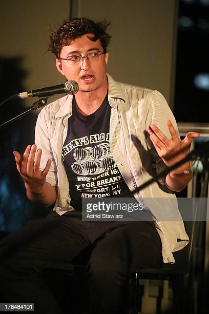 Director Benh Zeitlin attends Rooftop Films Presents Benh Zeitlin and David Lowery In Conversation at W New York Downtown on August 13 2013 in New...