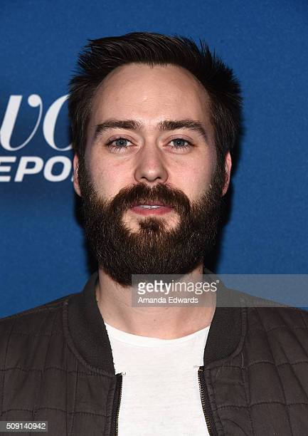 Director Benjamin Cleary arrives at The Hollywood Reporter's 4th Annual Nominees Night at Spago on February 8, 2016 in Beverly Hills, California.