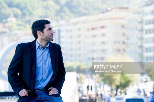 Director Benjamin Naishtat attends 'Rojo' photocall during 66th San Sebastian Film Festival at Kursaal on September 23 2018 in San Sebastian Spain