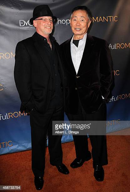 Director Benjamin Pollac and actor eorge Takei arrive for the Special Screening of Matt Zarley's hopefulROMANTIC With George Takei held at American...