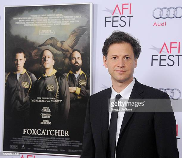 Director Bennett Miller arrives at the AFI FEST 2014 Presented By Audi Closing Night Gala Premiere of 'Foxcatcher' at Dolby Theatre on November 13...