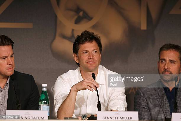 Director Bennett Miller speaks at the 'Foxcatcher' press conference during the 67th Annual Cannes Film Festival on May 19 2014 in Cannes France