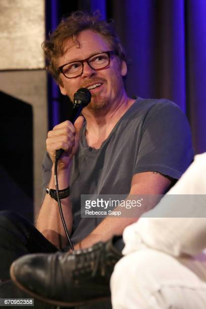 Director Benno Nelson speaks onstage at Reel to Reel Thank you Friends Big Star's Third Live And More at The GRAMMY Museum on April 20 2017 in Los...