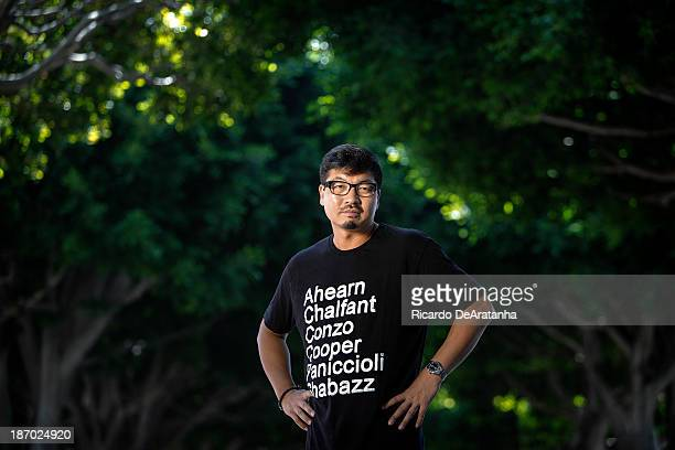 Director Benson Lee is photographed for Los Angeles Times on September 12 2013 in Culver City California PUBLISHED IMAGE CREDIT MUST READ Ricardo...