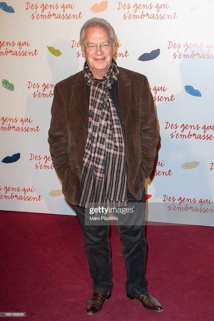 Director Bernard Murat attends the 'Des Gens Qui S'embrassent' Premiere at Cinema Gaumont Marignan on April 1, 2013 in Paris, France.