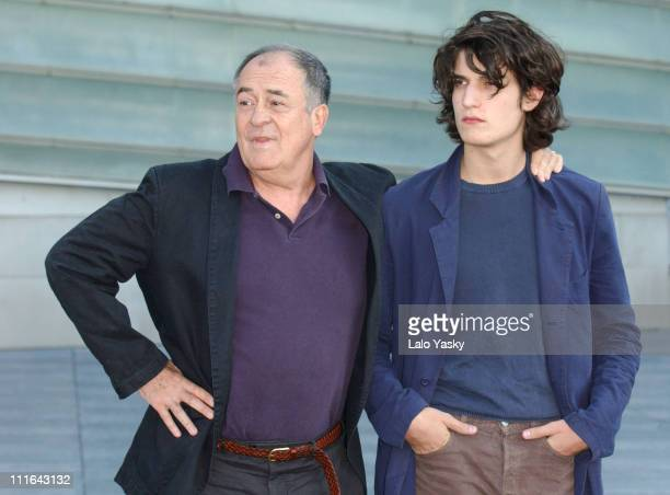 Director Bernardo Bertolucci and Actor Louis Garrel