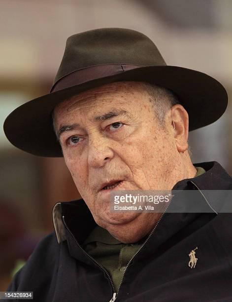 Director Bernardo Bertolucci attends 'Io e Te' photocall at Visconti Palace Hotel on October 18 2012 in Rome Italy