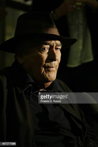Director Bernardo Bertolucci attends the Cocktail Party during the 9th Rome Film Festival at Casa del Cinema on October 15 2014 in Rome Italy
