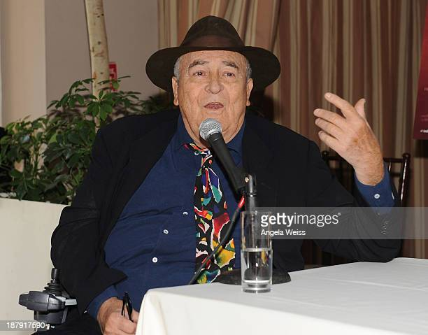 Director Bernardo Bertolucci attends the press reception announcing The Lineup for The Cinema Italian Style 2013 Film Festival at Sunset Tower on...