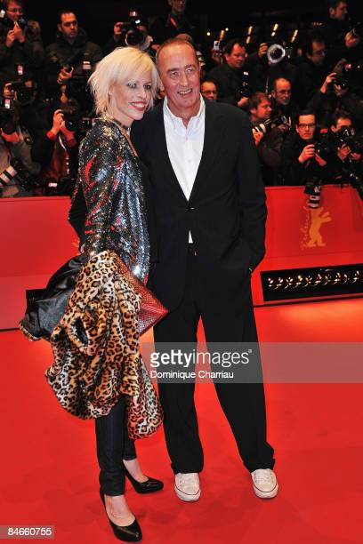 """Director Bernd Eichinger with his wife Katja attend the """"The International"""" premiere and Opening Ceremony during the 59th Berlin International Film..."""