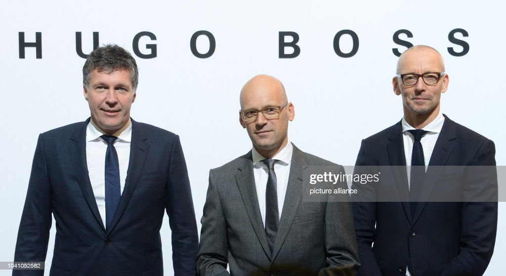 Director Bernd Hake, CEO Mark Langer, and brand manager and creative